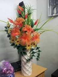 Image result for flores de medias de seda arreglos