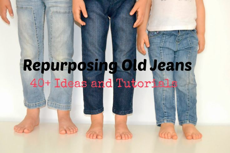 Repurposing Old Jeans: 40+ Ideas and Tutorials - Sara @ Made by Sara - Guest Post  only on SergerPepper.com PLUS: Craftsy huge summer sale & discount code for Serger Pepper PDF Patterns!