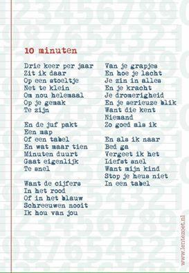 10 minuten door Lentezoet #rapportgesprek #oudergesprek #onderwijs