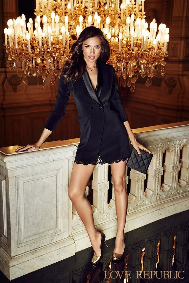 Irina Shayk for Love Rebublic Fall / Winter 2015 Ad Campaign