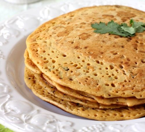 Chickpea crepes (gluten-free) -  yay!  Bridget loves crepes, so need to make these for her!
