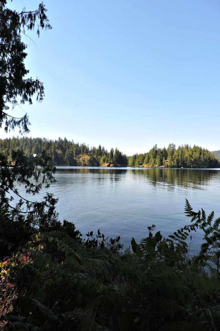Ruby Lake, Sunshine Coast, BC. Part of Two Scots Abroad's Great Canadian Lake Off. Who wins?