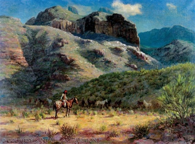 Catalina foothills by Olaf Wieghorst kp