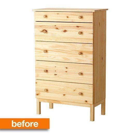 commode en pin ikea simple un lit bb sniglar nouvelles faons de luutiliser diy ideas and craft. Black Bedroom Furniture Sets. Home Design Ideas