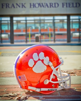 Clemson Football Picture at Clemson Photo Store