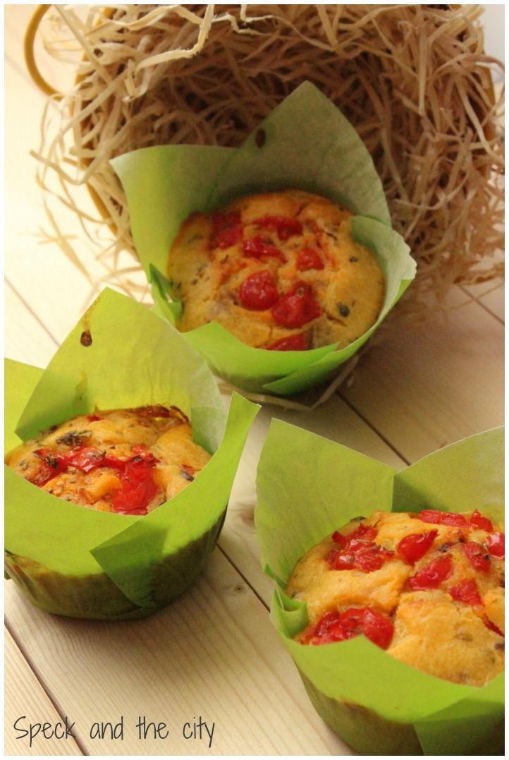 Muffin salati con pomodorini e olive per IFood in Store Scavolini Antegnate