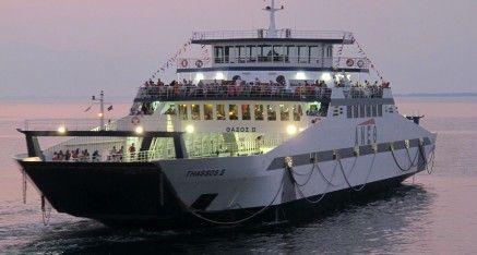 Cu feribotul –  Insula Thassos – Thasos Grecia