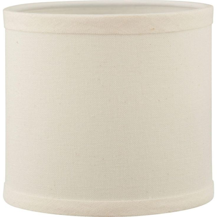 Progress Lighting Inspire Collection Beige Linen Accessory Shade