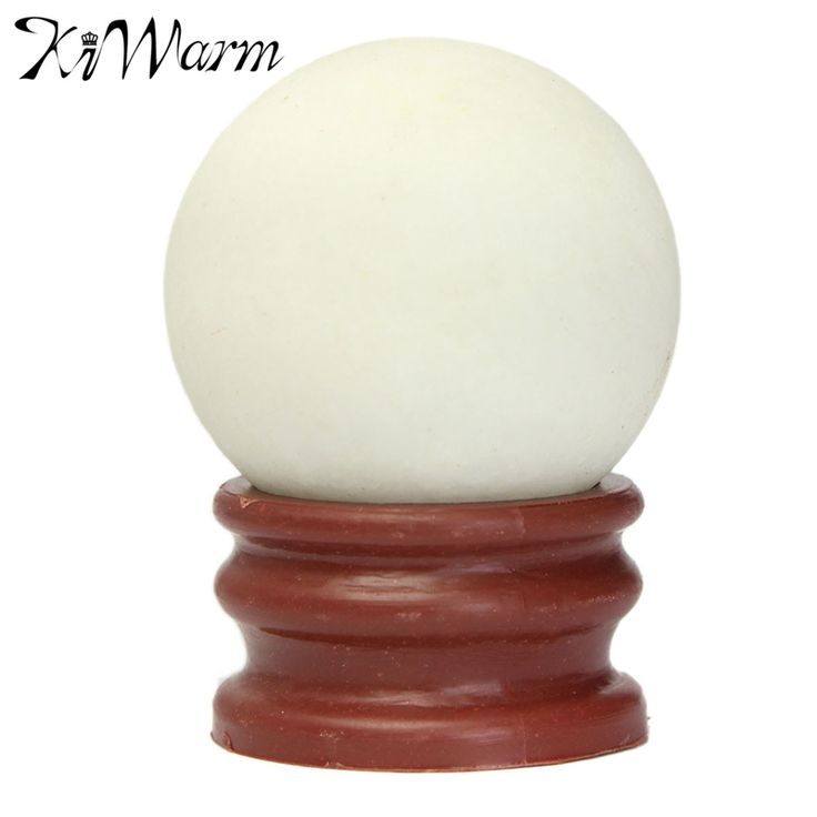 KiWarm 1Pcs 35mm Luminous Ball Goose Egg Absorb Light And Heat Natural Glowing Blue Light Pearl Stones Lucky Stone In The Dark