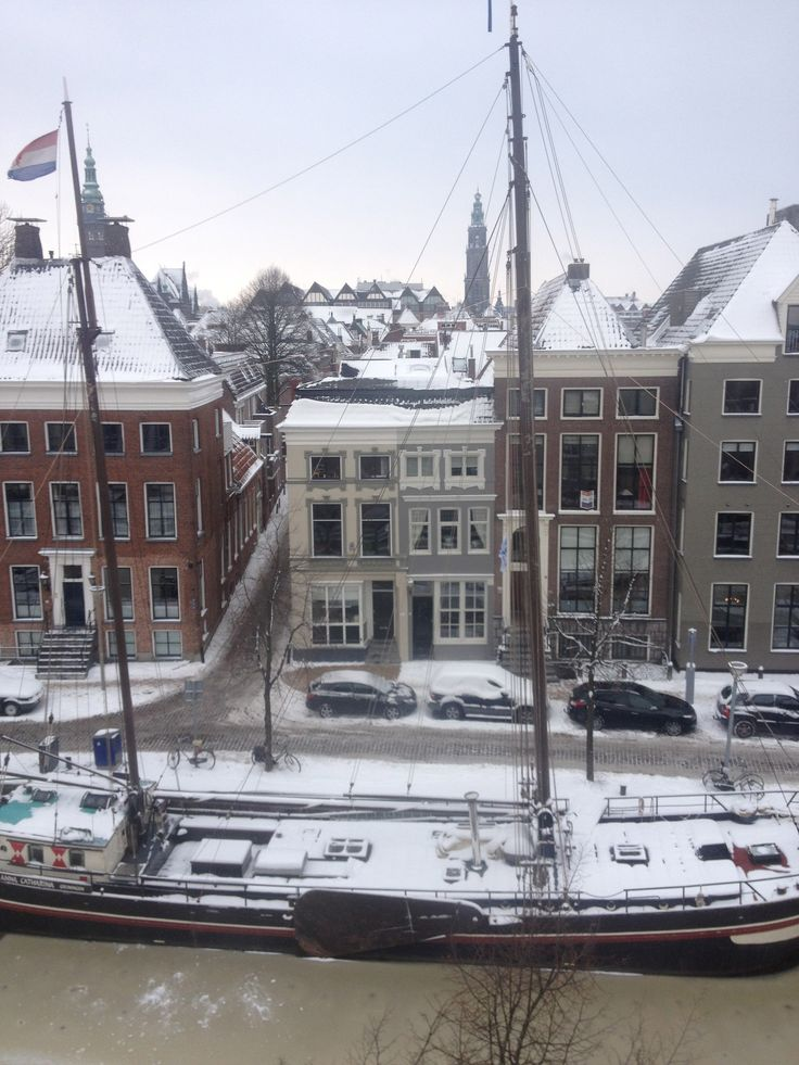 View from home in Groningen, the Netherlands