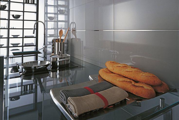 Glass Acero Tiles | Contemporary