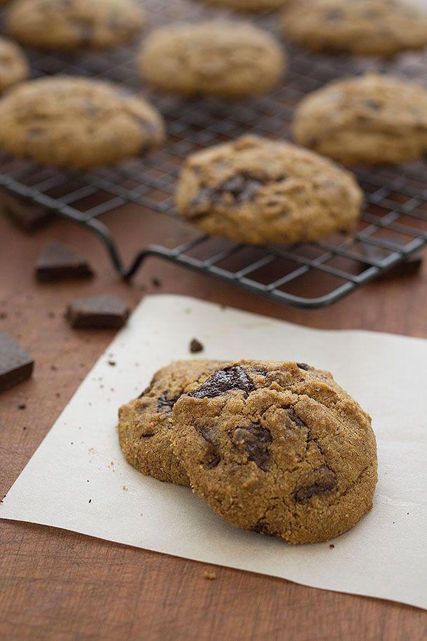 Chocolate Chip Cookies (Paleo, Grain Free, Gluten Free, Refined Sugar free)   Slim Palate