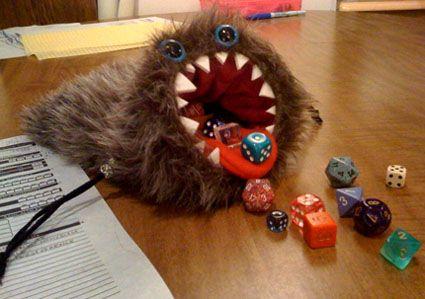 dicebag monster