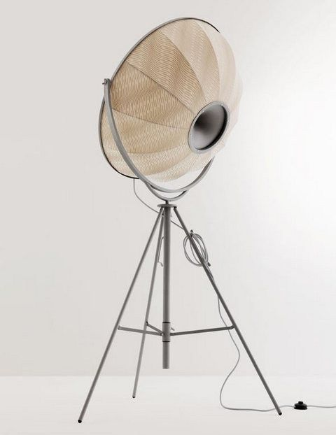 Fabric floor #lamp FORTUNY GIUDECCA 805 by Pallucco | #design Mariano Fortuny @Pallucco