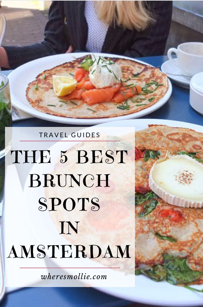 The 5 Best Brunch Spots In Amsterdam | Where's Mollie? A UK Travel and Lifestyle…
