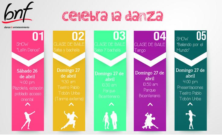Programación Celebra la Danza.