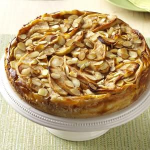 Apple Bavarian Torte Recipe This was a hit at our German Dinner Party last night!