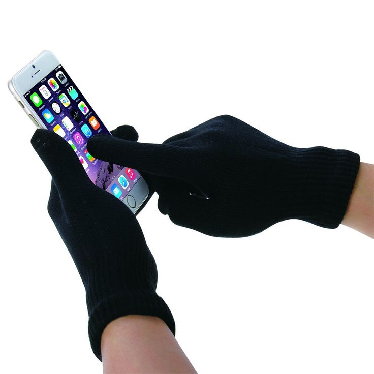 Amazon.com: HAWEEL® Three Fingers Touch Screen Gloves for Men(Black): Cell Phones & Accessories