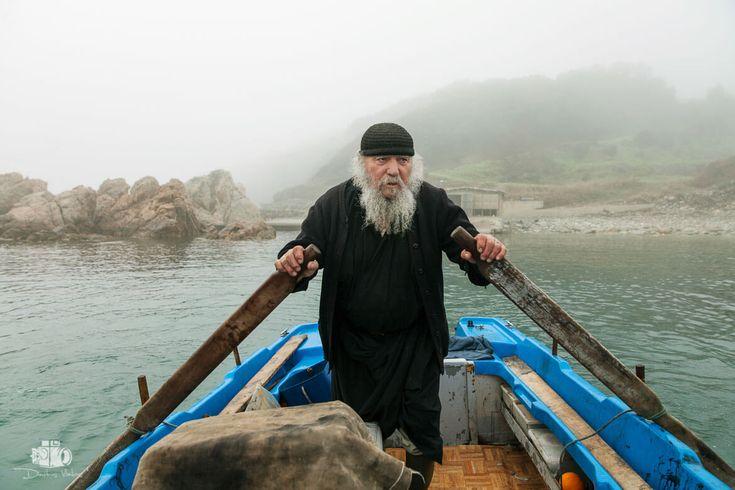 The Monk of Mount Athos by Dimitris Vlaikos