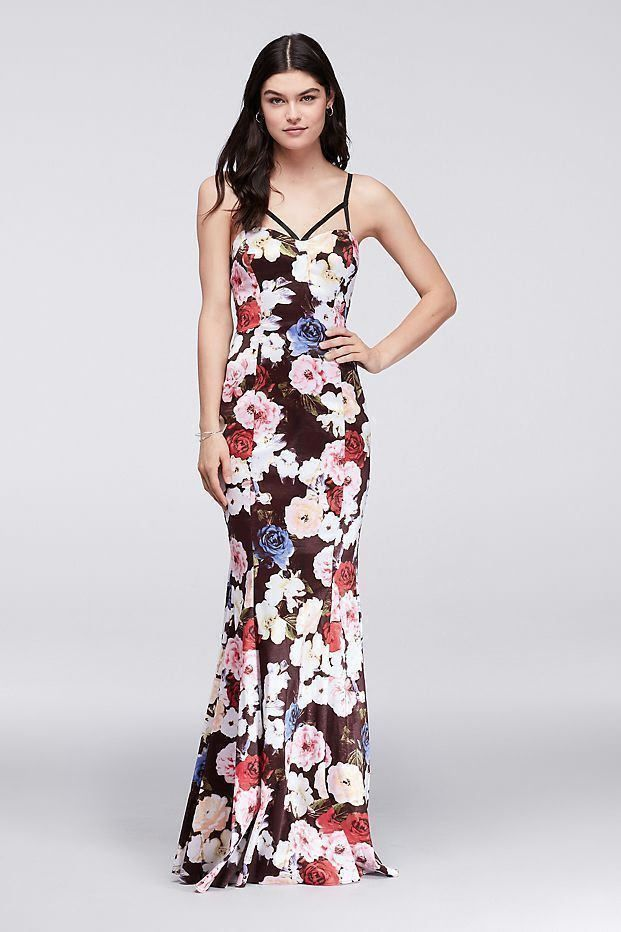 City Triangles Floral Prom Dresses