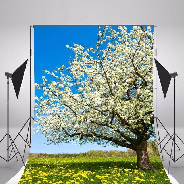 2017 Spring Flowers Photographic Backgrounds Children Photo Backdrops Vinyl Backgrounds For Photo Studio Fotografia