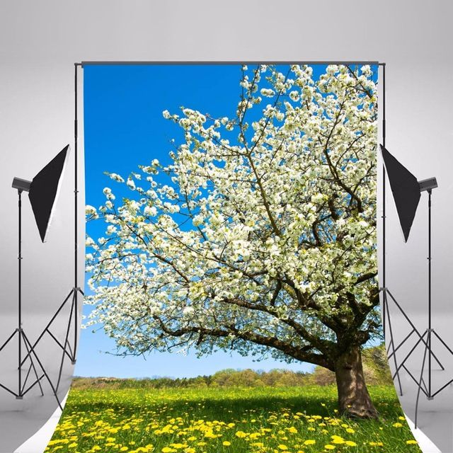 2017 Spring Flowers Photographic Backgrounds Children Photo Backdrops Vinyl Backgrounds For Photo Studio Fotografia