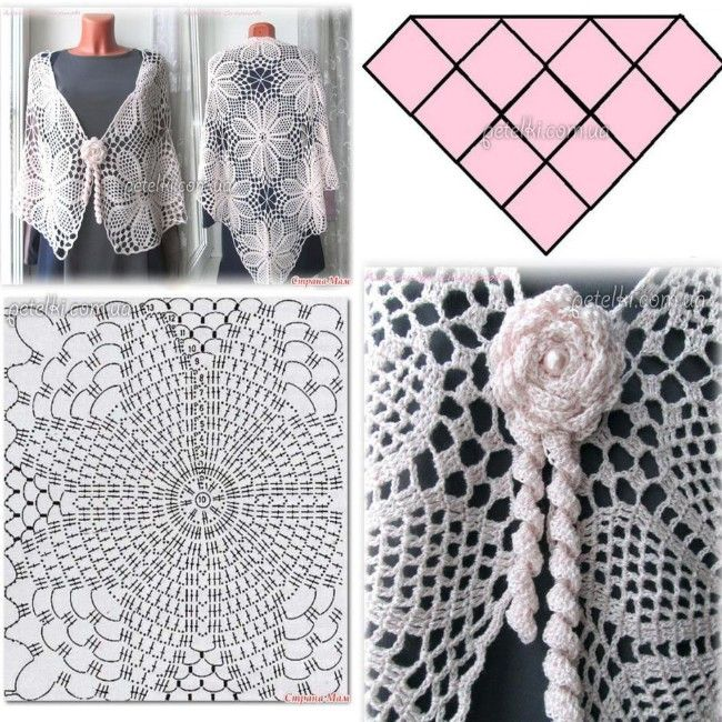 7 best chal haruni images on Pinterest | Knit shawls, Knit scarves ...