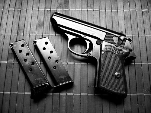Walther PPK Pistol: Best little backup/off duty weapon there was at the time. Probably carried this baby for close to 20 years.
