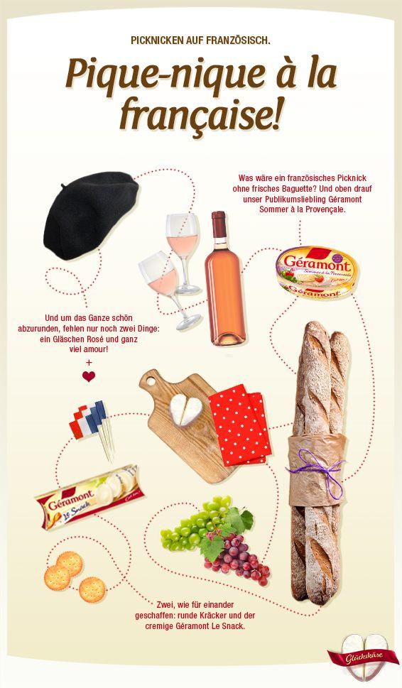 Typisch französisches Frühstück - mais oui! #lassunspicknicken #cestbon #geramontpicknickideen
