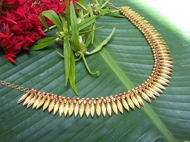 Kerala jewellery patterns