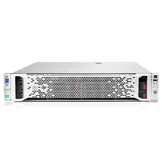 2x Intel Xeon E5-2690 (2.9GHz, 20MB), 32GB PC3-12800R, Slim SATA DVD-RW, Smart Array P420i/2GB FBWC, 2x 750W PS