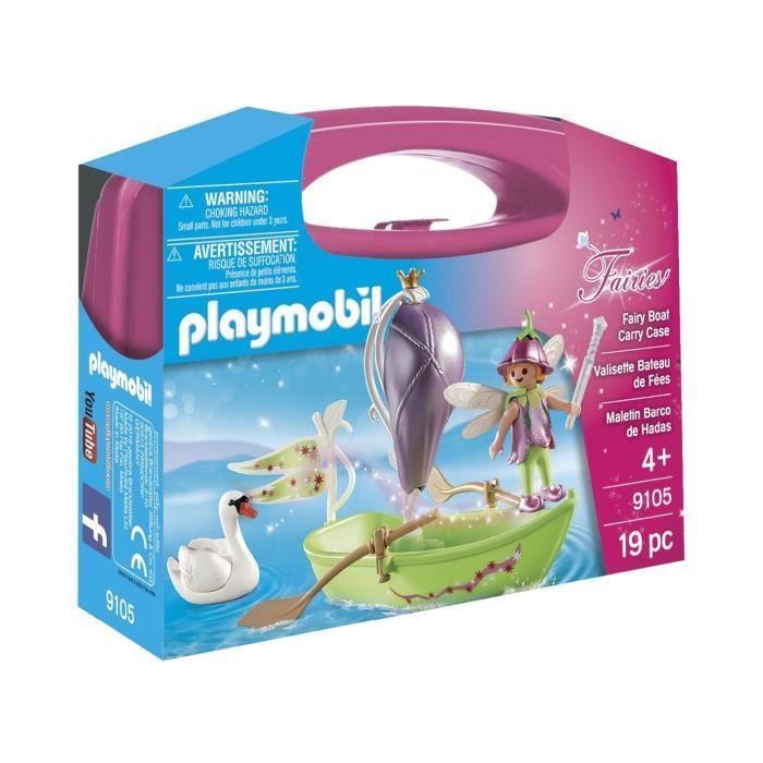 Playmobil 9105 Fairies Valisette Bateau De Fee Playmobil
