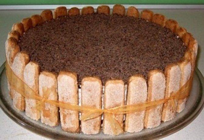 Cappuccino torta 2.
