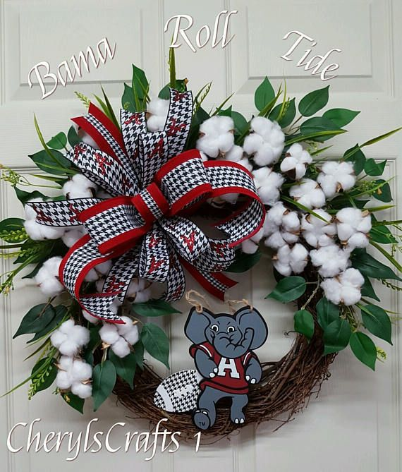 Check out this item in my Etsy shop https://www.etsy.com/listing/516743344/bama-wreathroll-tide-wreathfathers