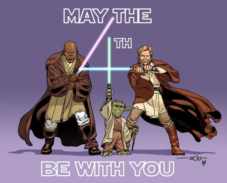 May the 4th be with you!!