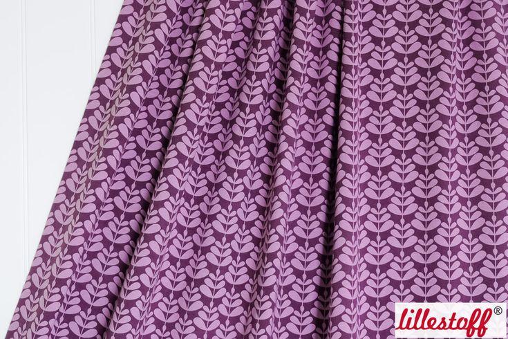 lillestoff » Charlotta Purple « // Design: enemenemeins // hier erhältlich: http://www.lillestoff.com/charlotta-purple-4351.html