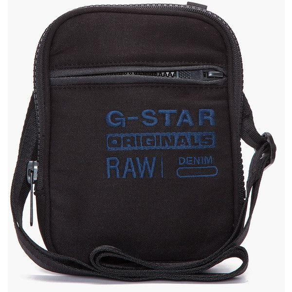 G-Star Aston Original Small Rawwi Bag (48 AUD) found on Polyvore featuring bags, handbags, shoulder bags, men, pocket purse, shoulder strap bag, square purse, g-star raw and distressed handbags