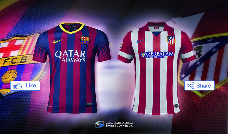 Today is the final day of the Spanish La Liga. If Atletico de Madrid win or draw the game, then the title is theirs. Barcelona need to win. Who will you be supporting, Like for Barcelona or Share for Atletico de Madrid.
