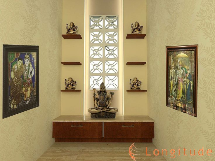 Interior Design How Far From Doorway To Put Furniture ~ Best puja room ideas images on pinterest mandir