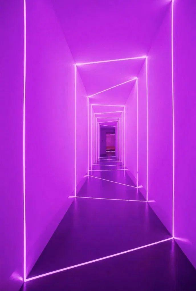 purple aesthetic led lights strip neon welcome fondos pantalla walls colors iphone
