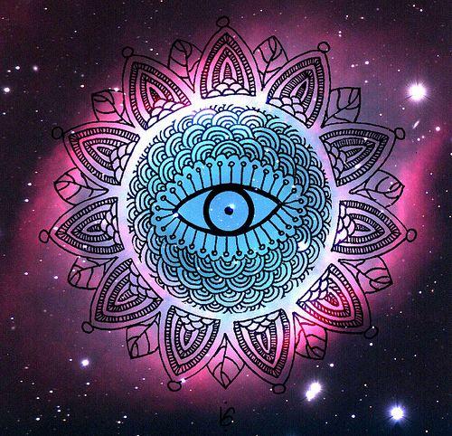 Mandala | Helix nebulosa #Drawing