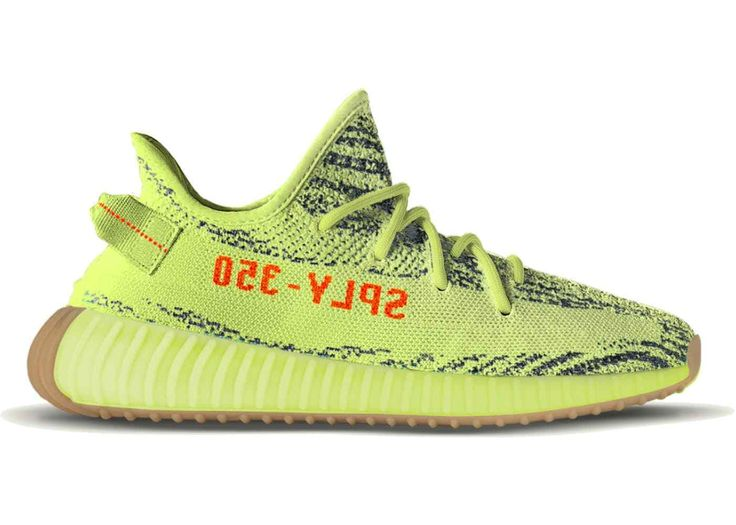 Adidas Yeezy Boost 350 V2 Semi Frozen Yellow B37572 US 9.5 UK 9 EUR 43 1