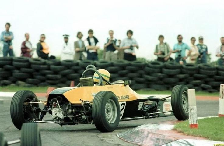 Ayrton Senna Formula Ford 1600