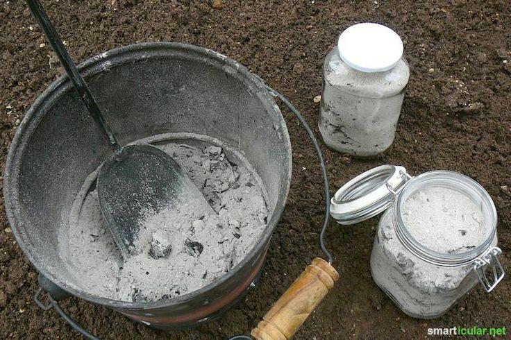 Holzasche als wertvollen Kalium-Dünger nutzen