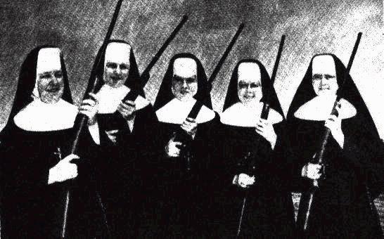 Nuns with Guns !