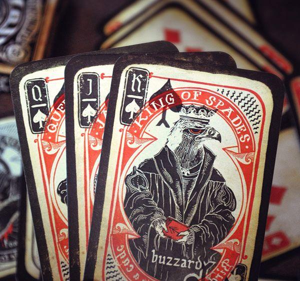 Highland Fauna Custom Cards on Behance