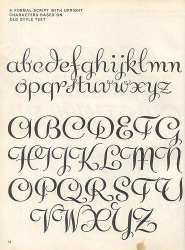 Script lettering (1957) p8