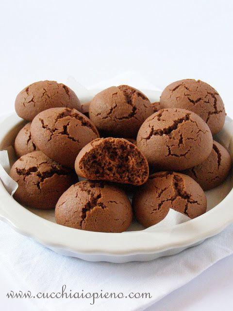 Cucchiaio pieno - receitas vegetarianas, italianas e muito mais! Com passo-a-passo e fotografia.: Biscoitos de nutella