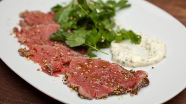 Tataki de bœuf libanais (le meilleur que j'ai eu la chance de goûter!!) - Signé M