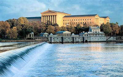 Philadelphia Museum of Art:    The Philadelphia Museum of Art is one of the biggest art museums in the USA. It boasts with a collection of over 227,000 works. Well noted American And European artworks are included in the collection. There over 800,000 visitors who frequent its main building every year.